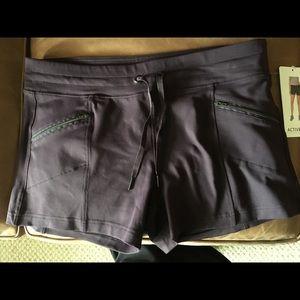 Plum colored shorts